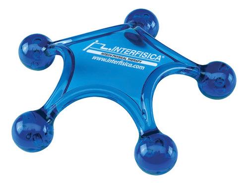 Masajeador Interfisica 5 Patas Azul