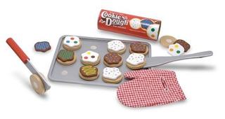 Melissa - Doug Slice Y Bake Wooden Cookie Juego De Comida Ju