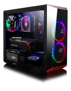 Set Pc Gaming Clx Amd Ryzen 7 2700x, Tarjeta De Video