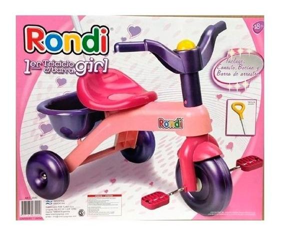 Triciclo Rondi Manija Girl 3540 E.full