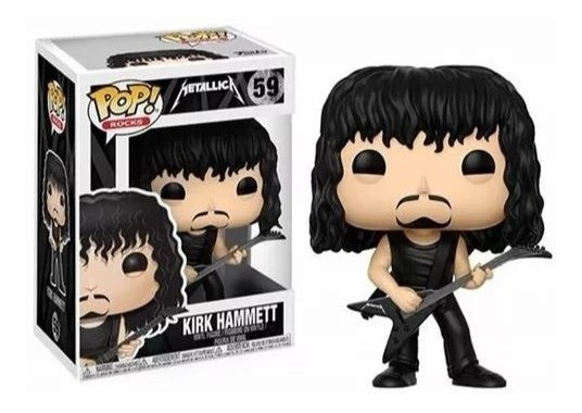Funko Pop Rocks 59 - Kirt Hammett ( Metallica )