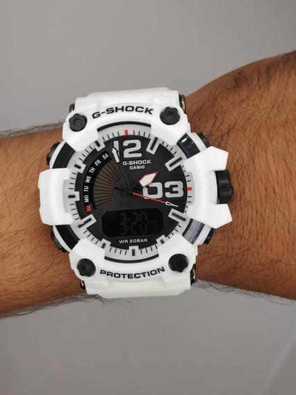 Relógio G-shock Masculino Branco Protection