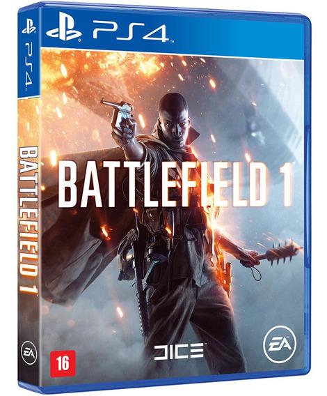 Jogo Battlefield 1 Ps4 Midia Fisica Original Novo Nacional