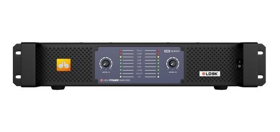 Amplificador Db Series Ld9k 9100w Rms 2 Canais 220v Nfe