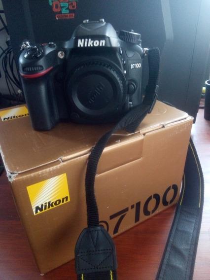 Nikon D7100 Solo Body. 30k Disparos.