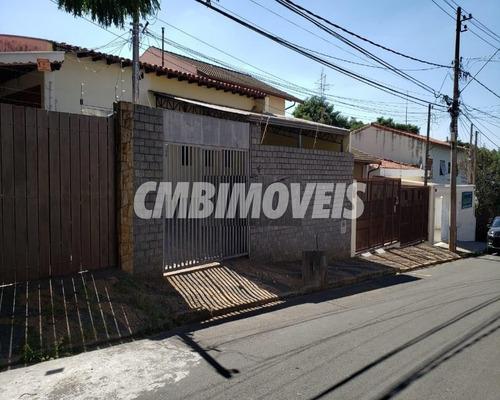 Imagem 1 de 7 de Casa À Venda 3 Dormitórios No Jardim Nossa Senhora Auxiliadora Em Campinas - Ca06094 - Ca06094 - 68077759
