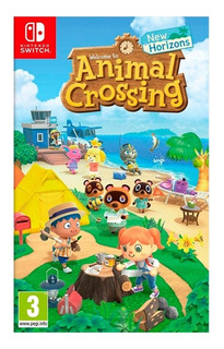 Juegos Nintendo Switch Animal Crossing New Horizons Fisic /u