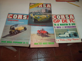 Para Fanaticos Lote Buggy Areneros Road Test Corsa Años 70