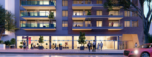 Venta Apartamento Monoambiente Tres Cruces Edificio Gala Pop