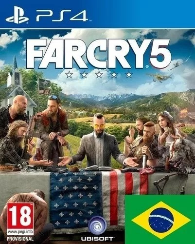 Farcry 5 Ps4 - Midia Digital 1 - Dublado Pt Br Envio Agora