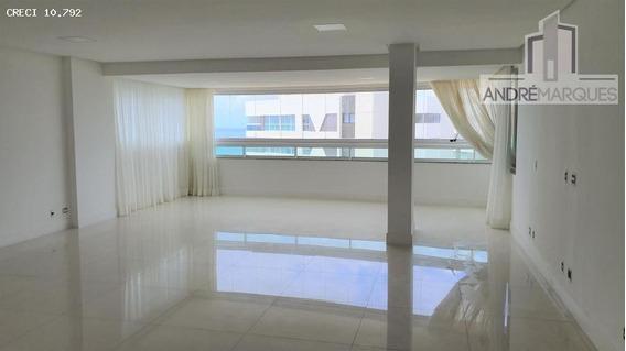 Apartamento Para Venda Em Salvador, Patamares, 4 Dormitórios, 3 Suítes, 2 Banheiros, 6 Vagas - Am314