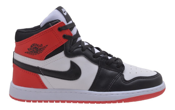 Tenis Bota Air Jordam Chicago Retro 1 High Oferta