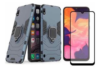 Funda Samsung Galaxy Case Uso Rudo Protector Mica 5d