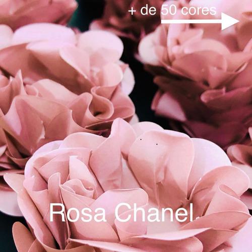 Imagem 1 de 2 de 120 Forminhas De Doces Finos Casamento Mod Style Rosa Chanel