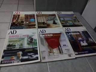 Paq. 6 Revistas Ad Arquitectura Digest México.