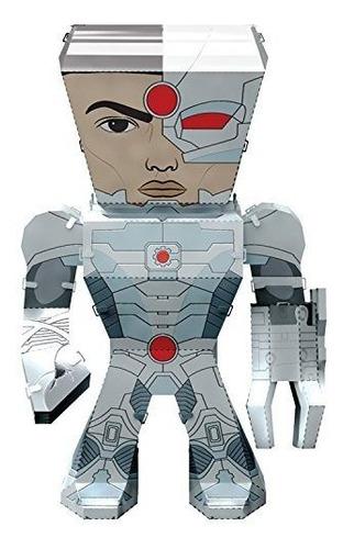 Fascinaciones Metal Earth Dc Justice League Cyborg 3d Modelo