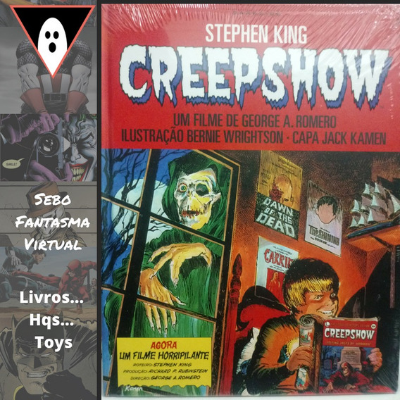 Hq Creepshow Stephen King Lacrada Capa Dura Mxthq
