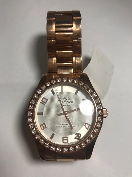 Relógio Feminino Champion -50% Off Vitrine Mod Cn29329
