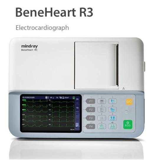 Selka Electrocardiógrafo Ekg Ecg Beneheart Mindray R3 Nuevo