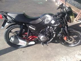 Moto Fx Color Negra Motor 150 Año 2016