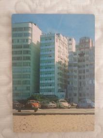 Cartão Postal Do Hotel Luxor Copacabana Anos 70