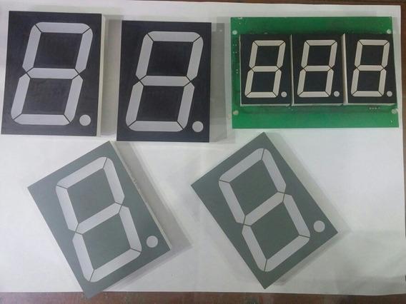 1 Pç Display Led 7 Segmentos Ctk D4566a Wcn1 A-4001e Anodo C