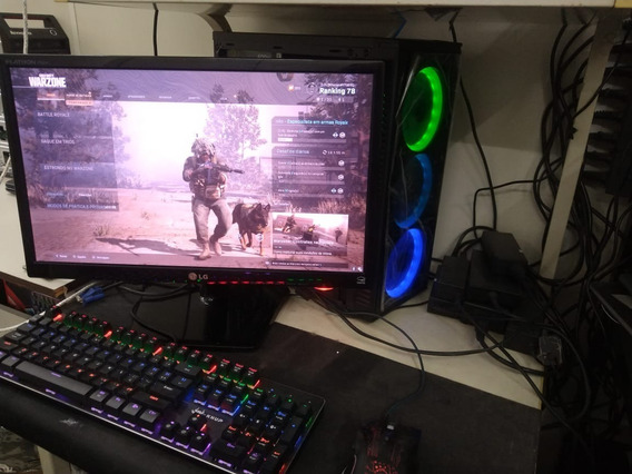 Computador Gamer Completo I7 7700 480 Ssd 1tb Hd Ram Gtx1060