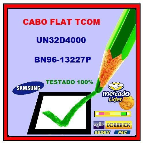 Cabo Flat Tcom Samsung Un32d4000 Bn96-13227p