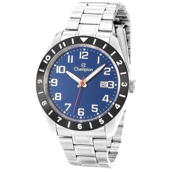 Relógio Masculino Champion Ca31438a Prata