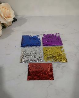 Confeti Circular Para Globos 5 Colores