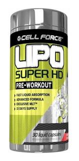 Lipo Super Hd 30 Cápsulas Cell Force