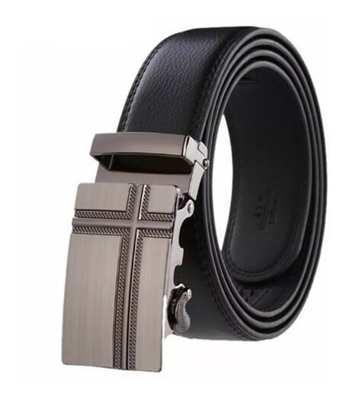 Cinturón Masculino Hebilla Automática 130 Cm Nuevo Moda 2020