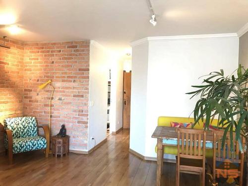 Imagem 1 de 19 de Apartamento Com 2 Dormitórios À Venda, 60 M² Por R$ 650.000,00 - Jardim Marajoara - São Paulo/sp - Ap13031