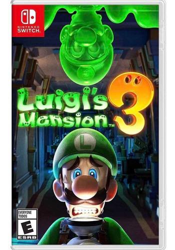Imagen 1 de 1 de Luiguis Mansión 3 Nintendo Switch...ld Games...