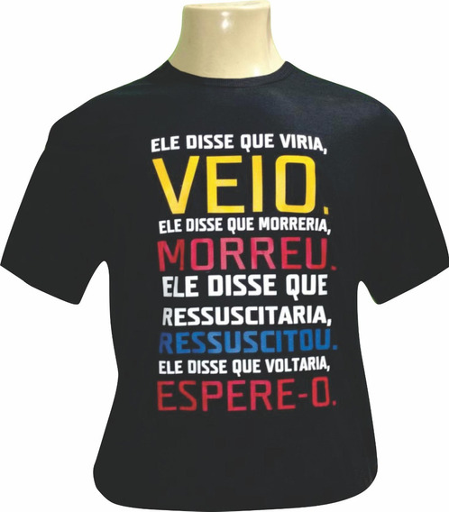 Camisetas Com Mensagens Bíblicas