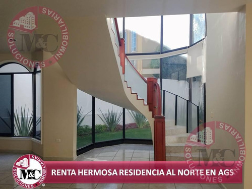 M&c Soluciones Inmobiliarias Renta Hermosa Residencia Al Norte