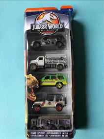 Matchbox Jurassic World Pack Com 5 Minis