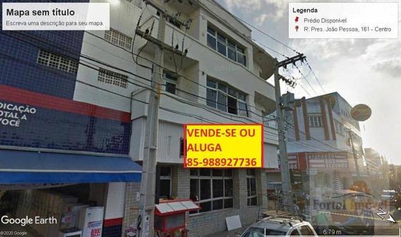 Prédio Comercial Na Principal Rua Do Centro De Campina Grande (pb) - Pr0005