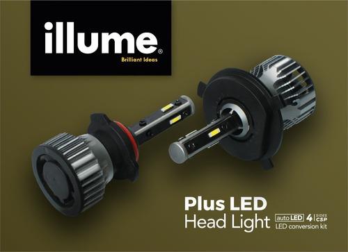 Imagen 1 de 5 de Led Illume Plus Alta Y Baja H4 H13 9007/9004 Special Edition