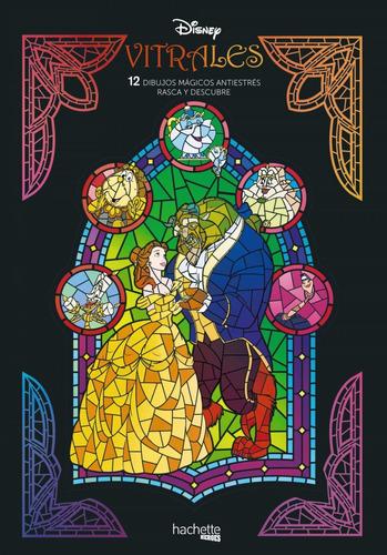Imagen 1 de 1 de Libro Vitrales Disney. Rasca Y Descubre - Vv.aa