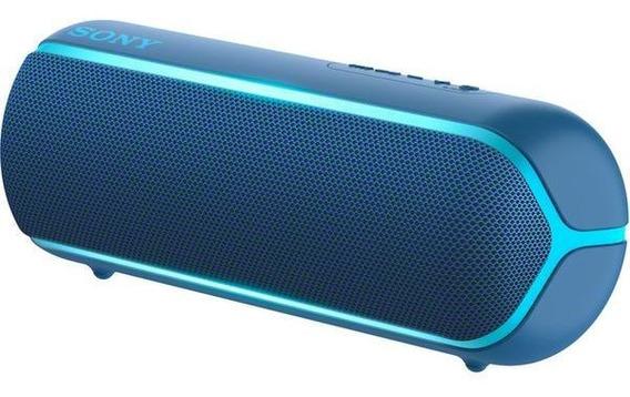 Caixa De Som Sony Extra Bass Srs-xb22 Bluetooth Azul