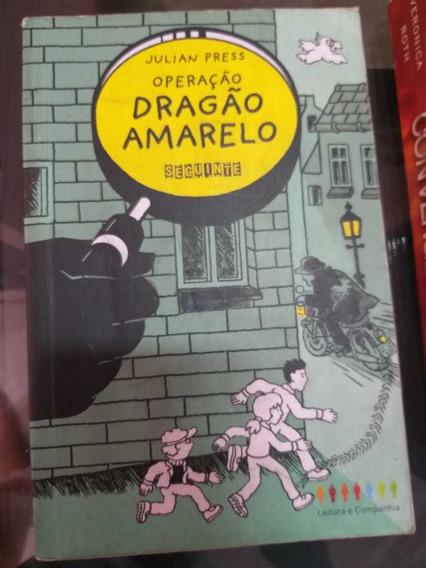 Livro Operação Dragão Amarelo