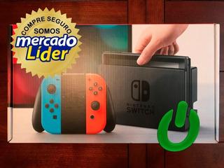 Consola Nintendo Switch + 1 Juego Con Mercadopago