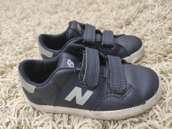 Tênis Newbalance Kids Azul Menino Tamanho 27