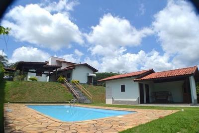 Chácara Em Condomínio Fechado Com 3 Dormitórios À Venda, 1400 M² Por R$ 700 Mil - Bom Jesus Dos Perdões Sp - Ch1121