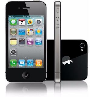 Apple iPhone 4 32gb Ios 4.0 Tela 3,5 3g, Usb, Gps | Vitrine