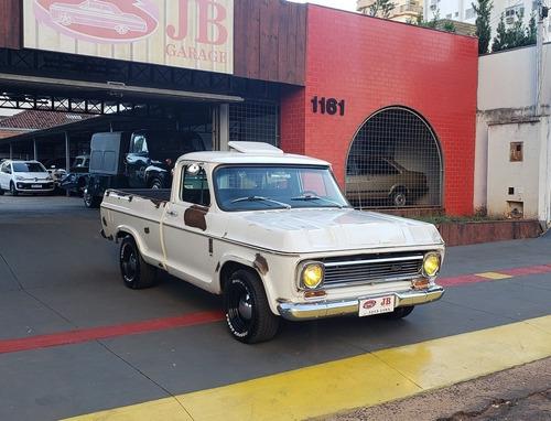 Imagem 1 de 15 de Chevrolet A-10 1983 6cil Alccol Rat Look Preparada