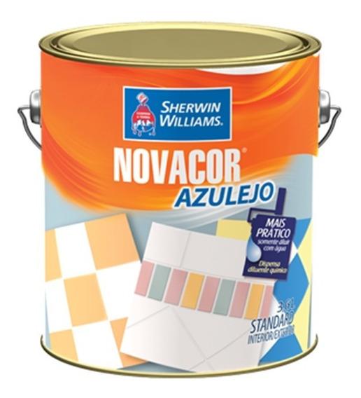 Pinturas Sherwin Williams Novacor Azulejos Blanco 3,6 Lts
