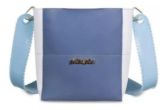 Bolsa Feminina Keen Petite Jolie Azul Pj4280 Nova Coleção
