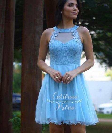 Vestido De Festa Curto Debutante Festas Luxo Modelo Boneca